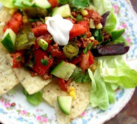 Vegetarian Taco Salad - Low Fat Recipe - Food.com