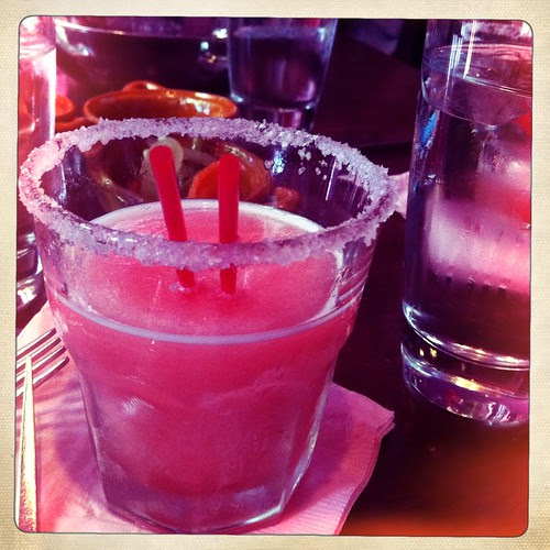 tasty pomegranite frozen margarita