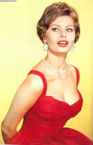 La legendaria y glamourosa Sophia Loren by El Comercio Digital