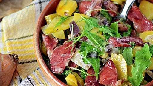 6 - Warm Roasted Potato and Bacon Salad2