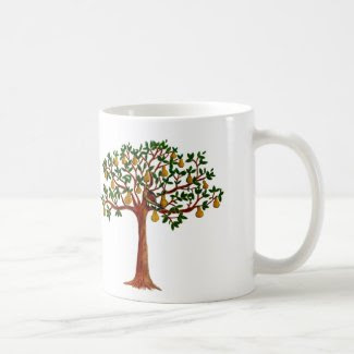 P in a Pear Tree Coffee/Tea Mug