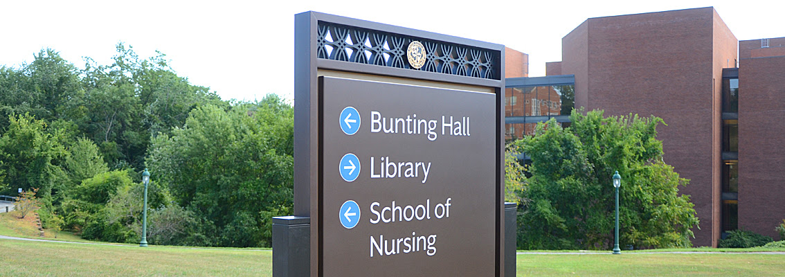 Wayfinding Signage for Schools, Colleges & University Campuses  L&H Sign Company  Reading