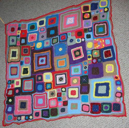 Babette's blanket finally finished