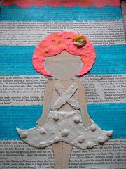 Mixed Media Clay Painting!1rst Step!