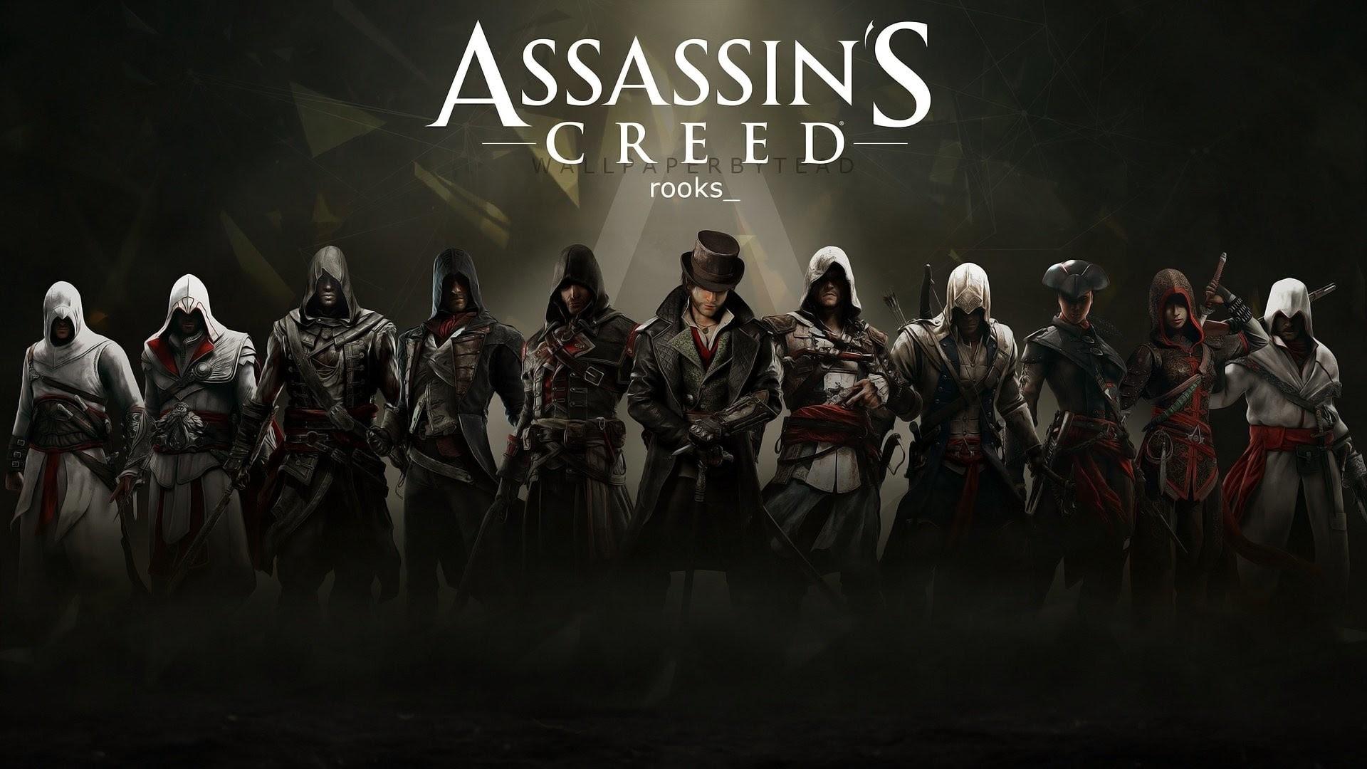 Assassins Creed All Assassins Wallpaper 88 Images