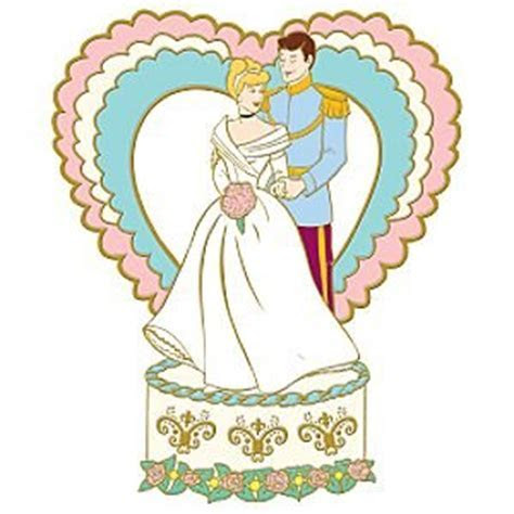 Cinderella and Prince Charming pin (Wedding series) from