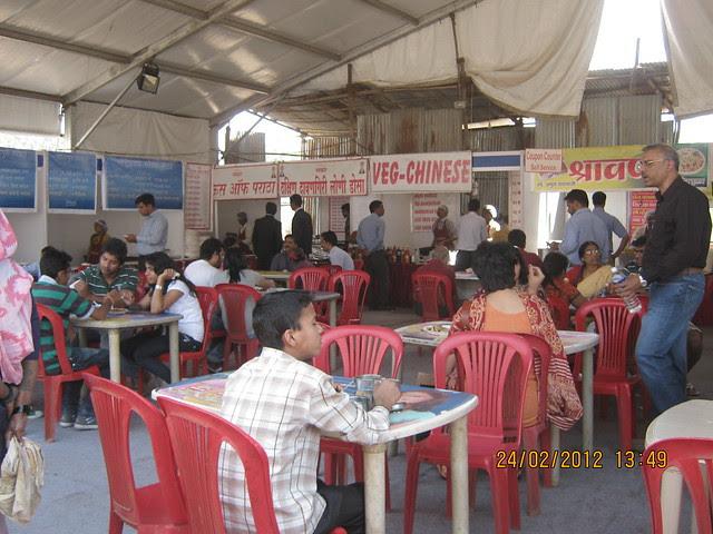 Canteen - Most Crowded Place - Visit Sakal Gudi Padwa Gruhotsav 2012, New Agriculture College Ground, Range-Hills, Sinchan-Nagar Pune 411 020