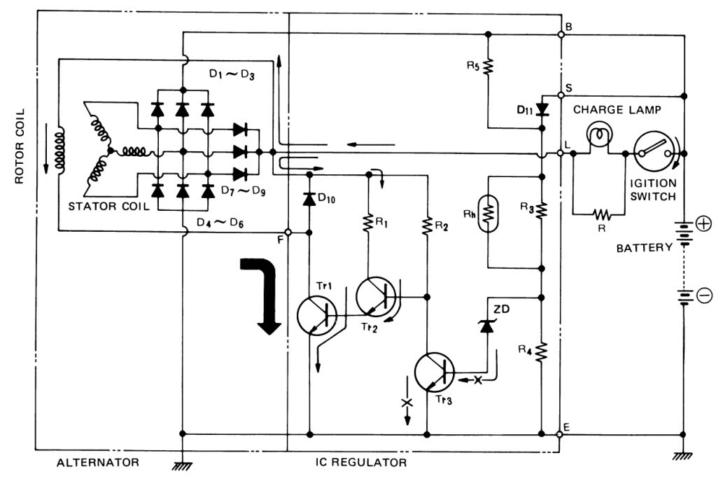1988 Rx7 Alternator Wiring Diagram