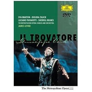 Verdi - Il Trovatore / Levine, Milnes, Marton, Pavarotti, Metropolitan Opera