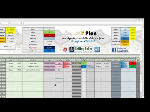 LayPlan con opzione Cash Out