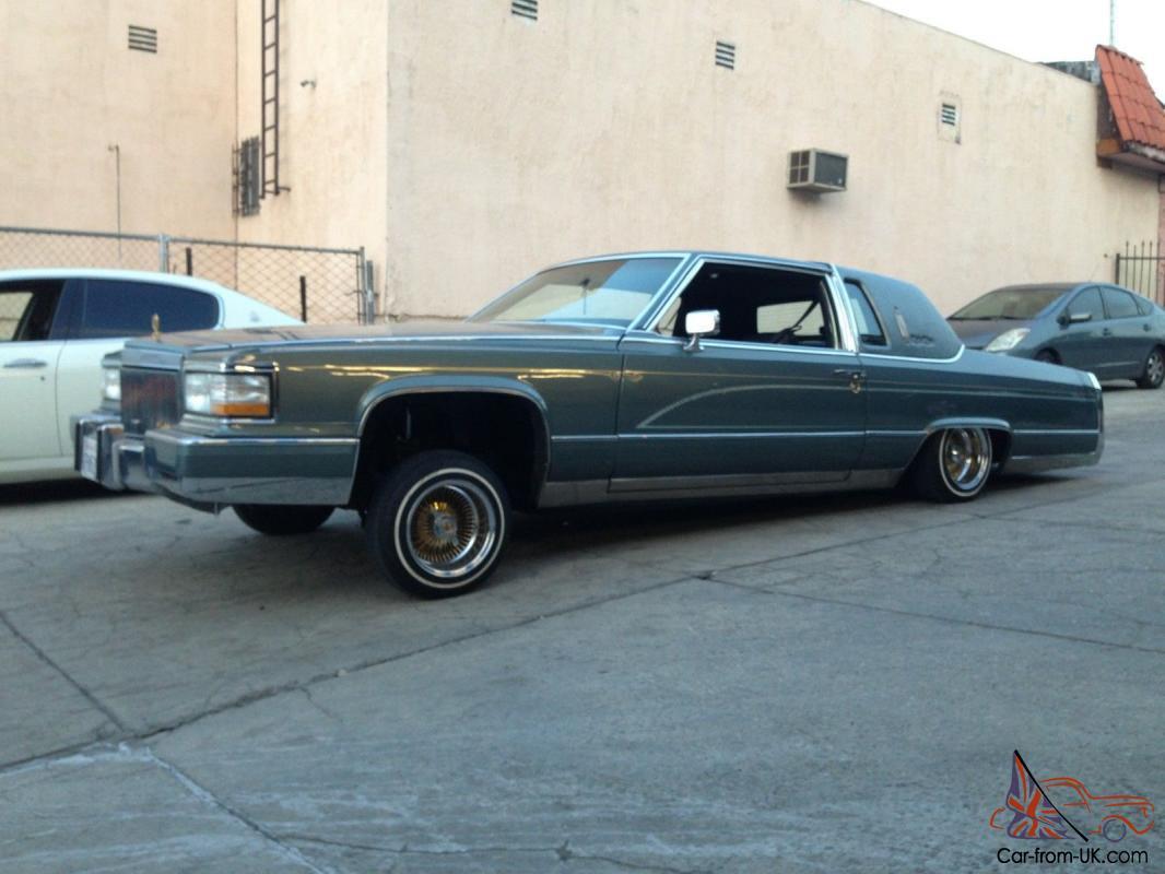 1981 Cadillac fleetwood brougham 2 door lowrider big body ...