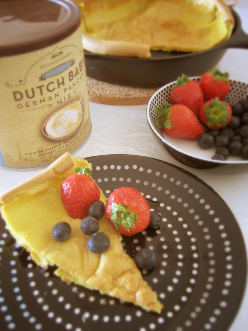 dutch baby german style baked pancake
