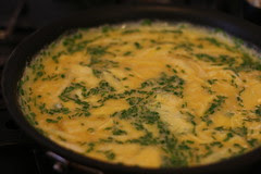 Soft Scrambled Eggs with Fresh Ricotta and Chives, Brunch in San Francisco