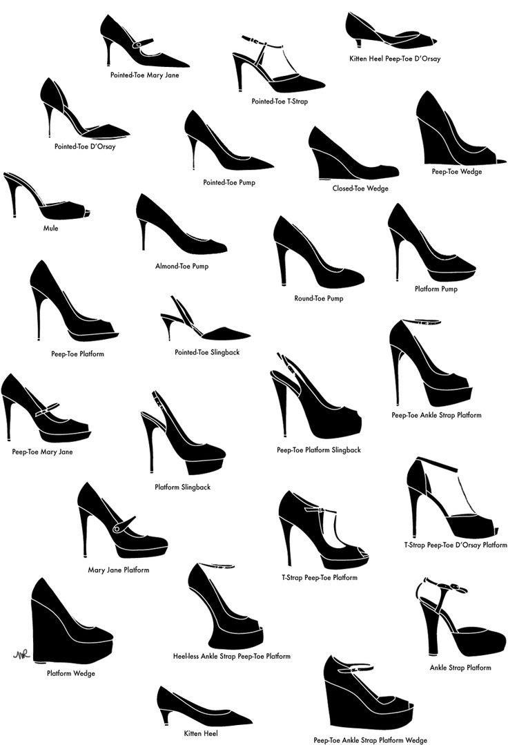 High heeled vocabulary.