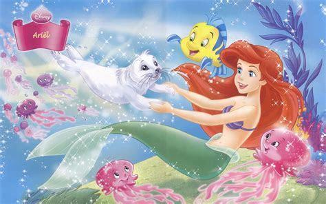 Disney Princess Ariel Background Wallpapers 07803   Baltana