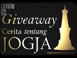 banner Giveaway: Cerita tentang Jogja.
