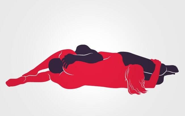 5. 69: Deitados de lado, homem e mulher usam a boca para estimular o parceiro com uma longa sessão de sexo oral. As mãos ficam livres para fazer carícias . Foto: Renato Munhoz (Arte iG)