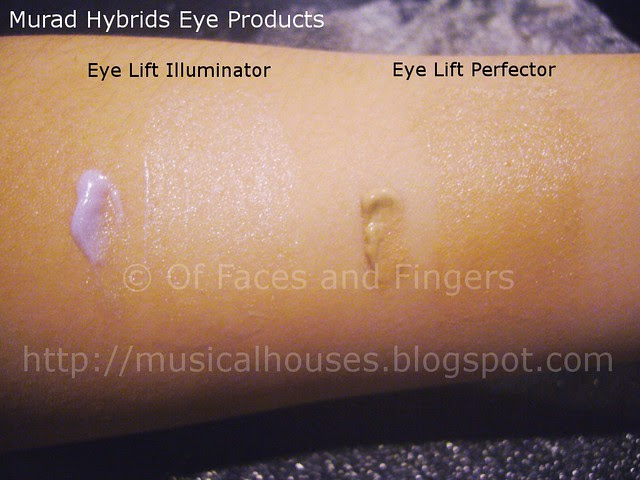 murad eye lift perfector illluminator swatch