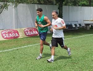 Ganso correndo Santos