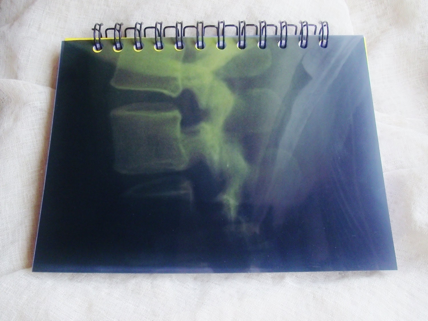 Upcycled X Ray film Notebook Journal Doctor Notes by Pinoodles