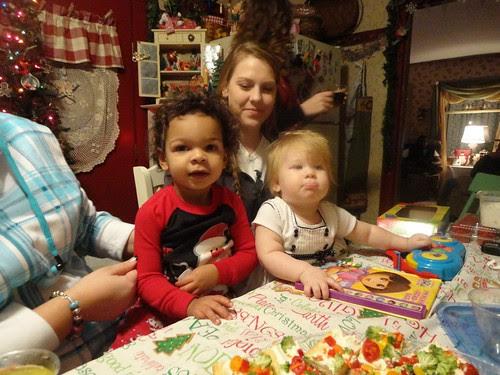 christmas eve, torry marlaina and miranda