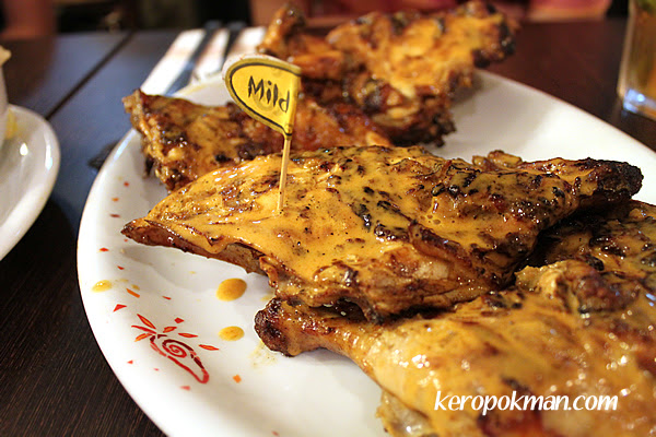 Peri-fect Platter - Mild Peri Peri Chicken