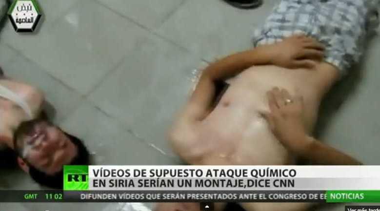 De nuevo la manipulación del gobierno gringo para intentar justificar su agresión sobre Siria.