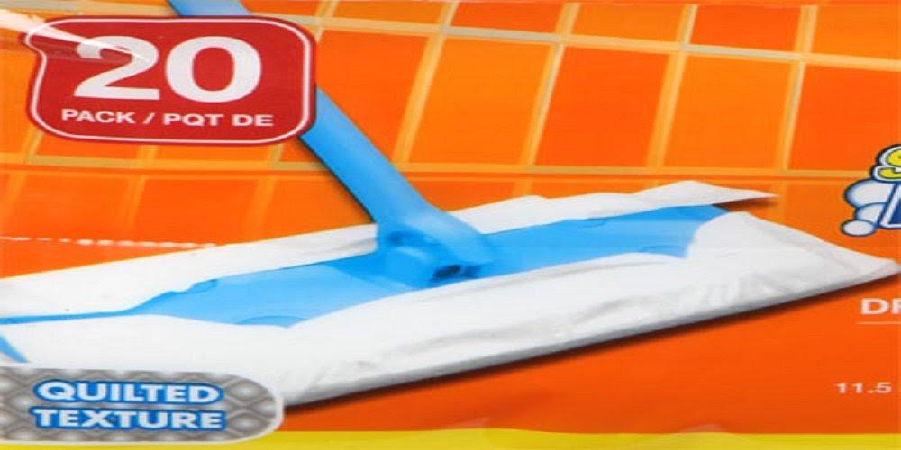 Amazon.com: Scrub Buddies Dry Floor Cleaning Cloths, 20-ct. Packs ...