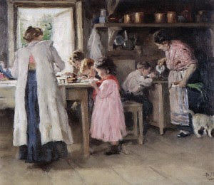 at-the-kitchen-1913