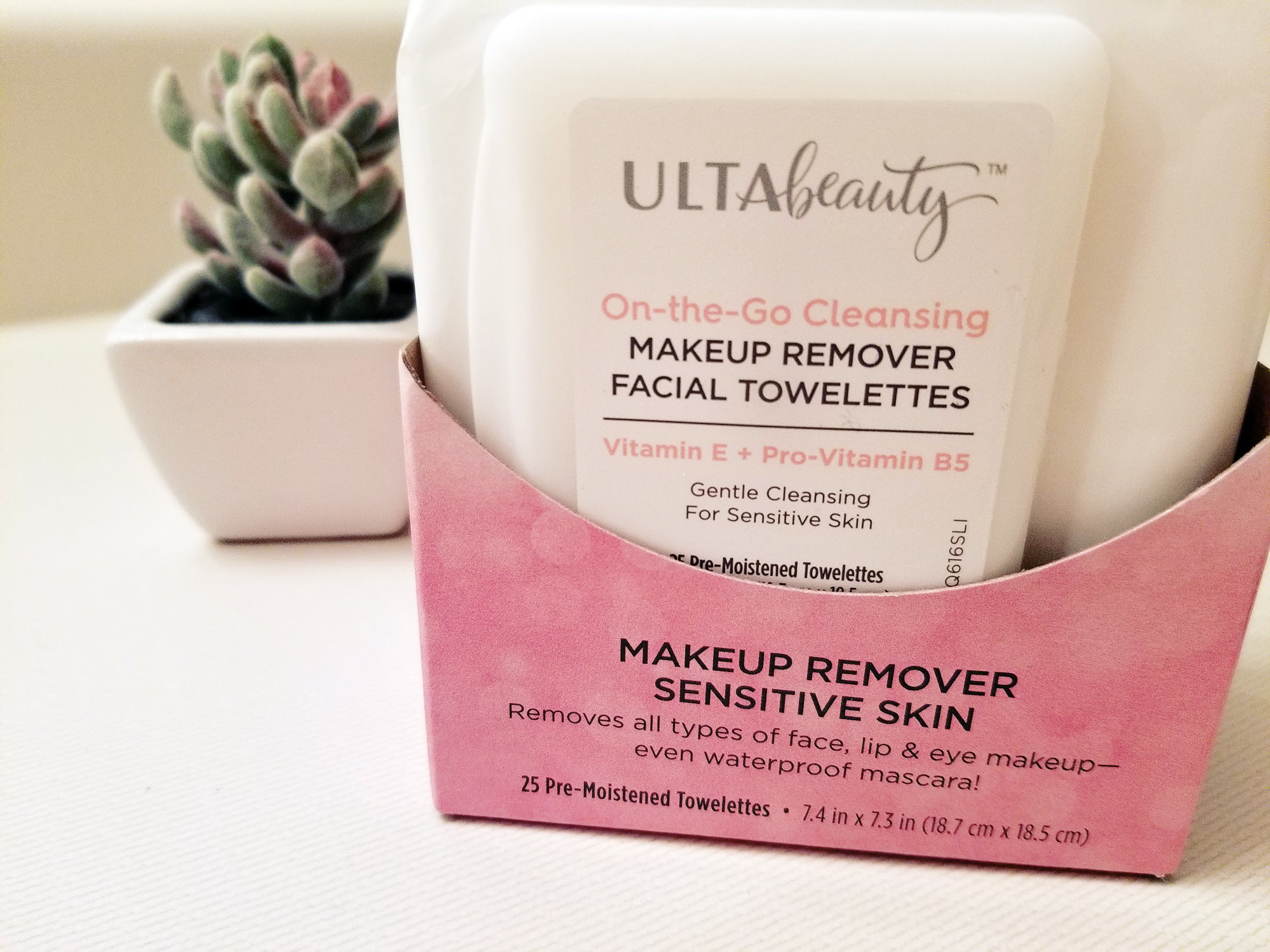 ULTA Review: Sensitive Skin Facial Cleansing Towelettes | Style Through Her Eyes