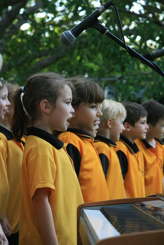 NightCliff Junior Primary songsters