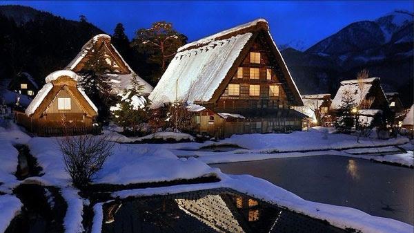 perierga.gr - Ogimachi: Σε αυτό το πανέμορφο χωριό επιτρέπεται να μείνεις 1 νύχτα!