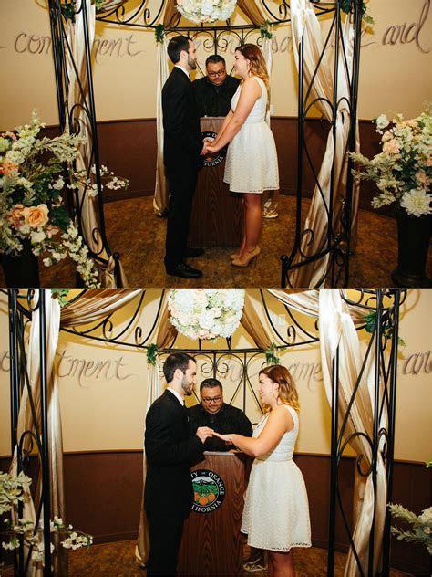 Orange County Civil Ceremony ? Anthony & Ericka ? Orange