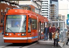 Streetcar at PSU Urban Studies Center