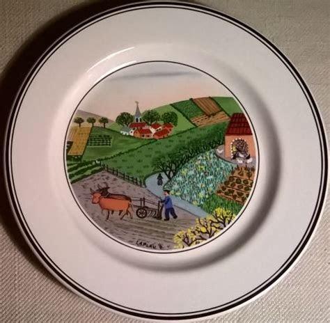 Design Naif dessert plate 'Plowing'