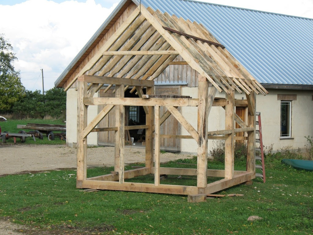 More 8x8 gambrel storage shed