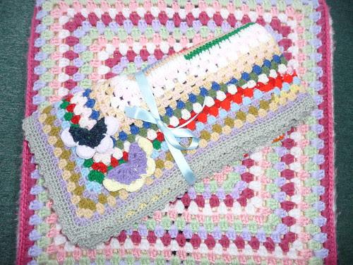 626 'jessiebonbon' RAVELRY. Thank you for 'Rainbow Blanket'.