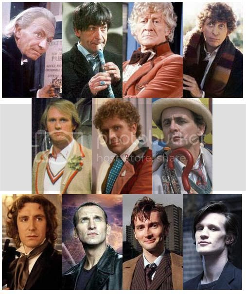 doctor who,eleven doctors