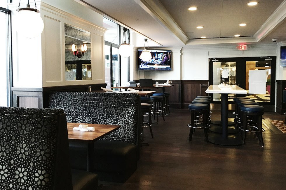 Sneak Peek inside of Mercury Dining Room