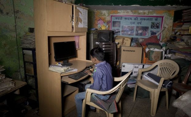 Picture of Balaknama's working area
