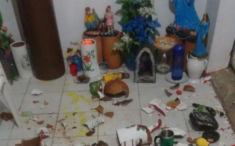 Centro foi depredado em Teresina; quatro casos em sete dias (Foto: Arquivo Pessoal)