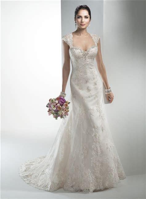 Stunning Mermaid Sweetheart Vintage Lace Wedding Dress