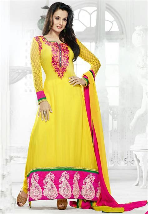 1000  images about Beautiful Anarkali Suits Collection on