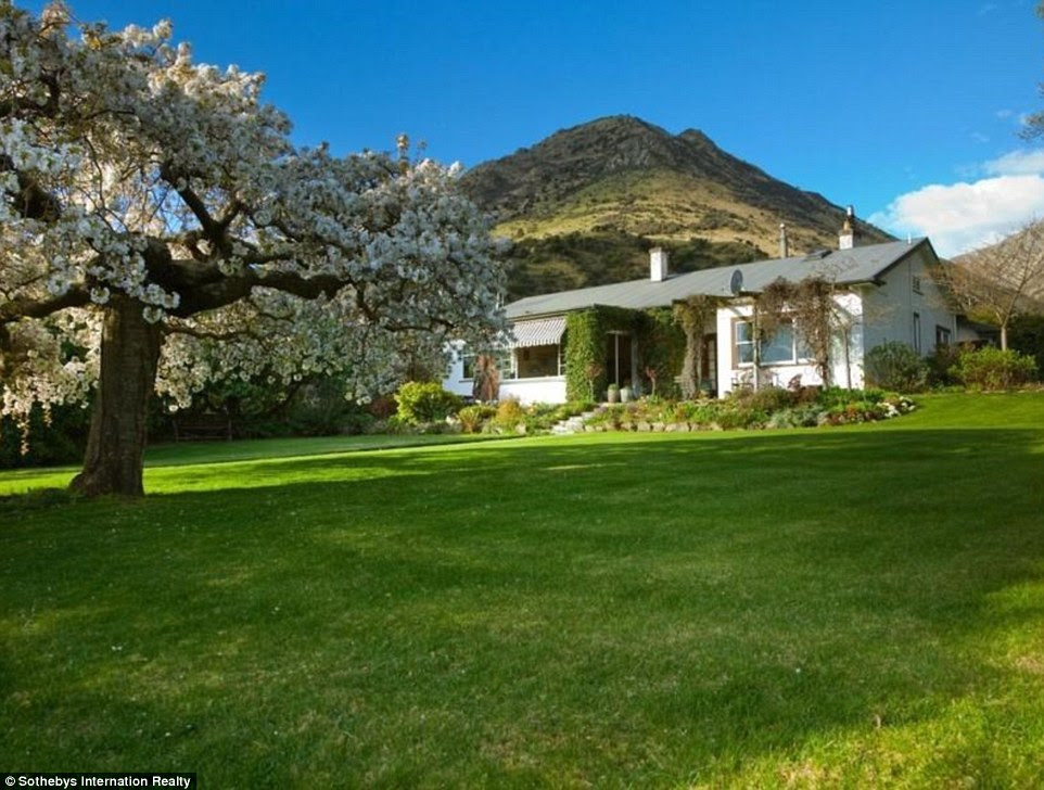 Grand plans: This property on Lake Hawea, wouldn't match a hedge funder's expectations - but there is plenty of scope for redevelopment when money is no object