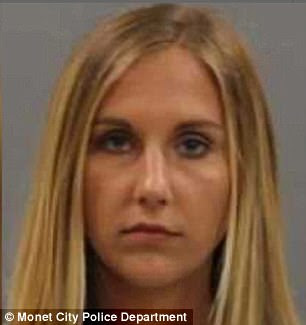 Loryn Barclay, 24, is charged with six counts of having sexual relations with a student