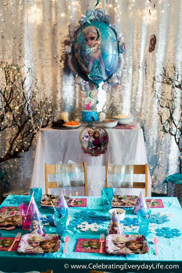 Movie Night Ideas At Home Party Themed Decorations Favors Tips For Hosting A Frozen Birthday