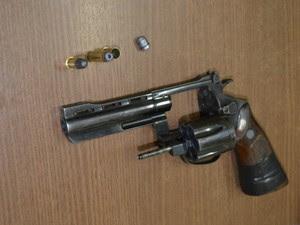 assaltante tiro perna acre (Foto: Veriana Ribeiro/G1)