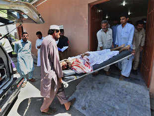 Image result for At least 16 killed, 23 injured in attack on mosque in Pakistan