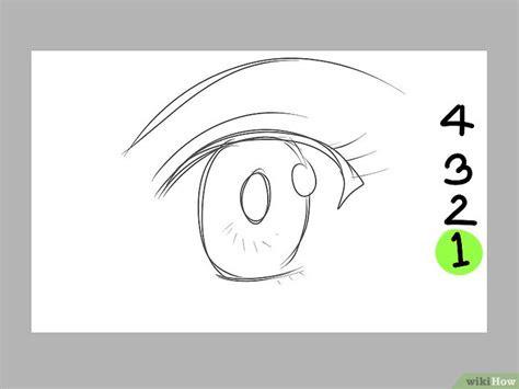 disegnare occhi  stile manga al computer