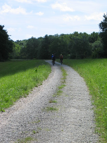 The unpaved part of the day - 13 km?